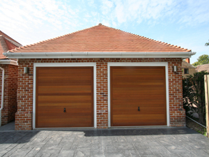 Garage Doors by Crown Conservatories in Hampshire