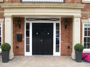 Timber Doors by Crown Conservatories in Hampshire