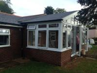 Solid Roof Gable Conservatory in Reading